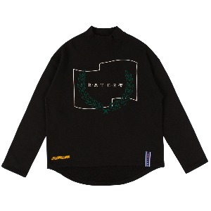 LAUREL CROWN TURTLENECK_BLACK