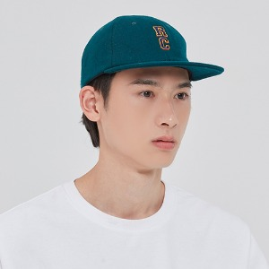 RC LOGO WOOL BALL CAP_GREEN