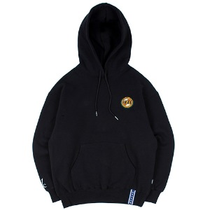 [1/29 예약발송]21C BOYS BIG LOGO HOOD_BLACK