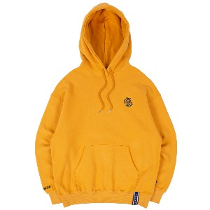 RMTCRW FLAG LOGO HOOD_YELLOW