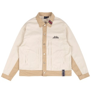 FRIDAY TRUCKER JACKET_OATMEAL