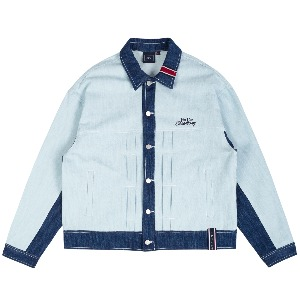 FRIDAY TRUCKER JACKET_SKY BLUE