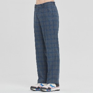 [1/30 예약발송]FRIDAY CHECK DRESS PANTS_BLUE