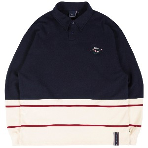 [1/29 예약발송]FRIDAY POLO SHIRT_NAVY