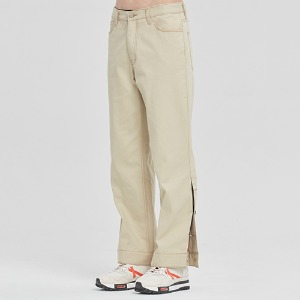 CEREMONY TAPE BUTTON PANTS_BEIGE