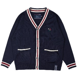 FRIDAY KNIT CARDIGAN_NAVY