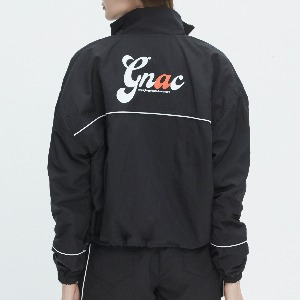 GNAC PIPING WINDBREAKER_BLACK
