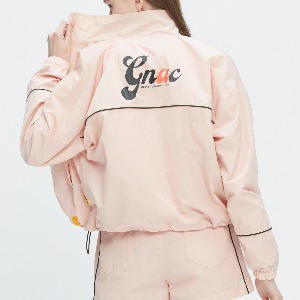 GNAC PIPING WINDBREAKER_PINK