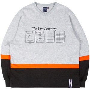FRIDAY FIELD JERSEY_GREY