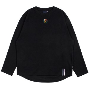 WORLD MAP LONG SLEEVE_BLACK