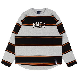 RMTC STRIPED LONG SLEEVE_GREY