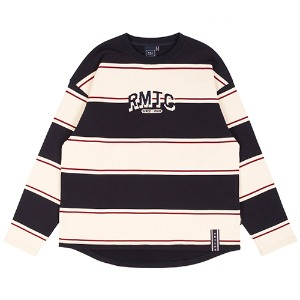 RMTC STRIPED LONG SLEEVE_NAVY