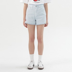 [KIRSH X RMTCRW]GNAC CHERRY SHORT PANTS_LIGHT BLUE