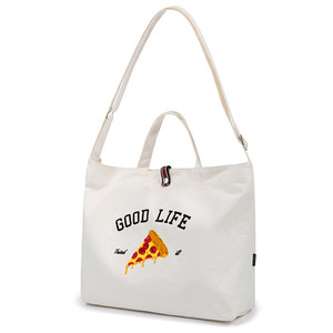 [PIZZAHUT X RMTCRW]GOOD LIFE CROSS BAG_OATMEAL