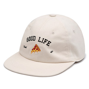 [PIZZAHUT X RMTCRW]GOOD LIFE BALL CAP_OATMEAL