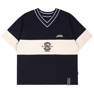 PERFECT GAME V NECK JERSEY_NAVY