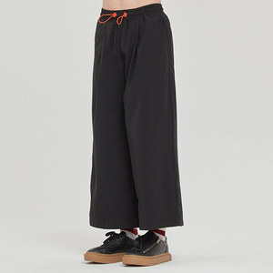 WIDE FIT EASY PANTS_BLACK