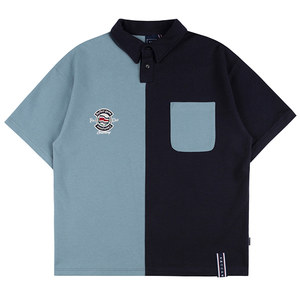 PERFECT GAME HALF POLO SHIRT_NAVY