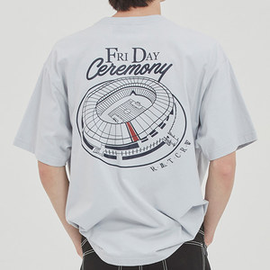 FRIDAY STADIUM TEE_SKY BLUE