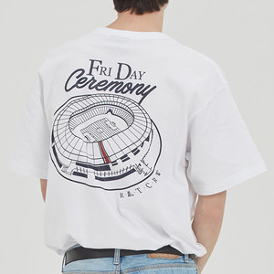 FRIDAY STADIUM TEE_WHITE