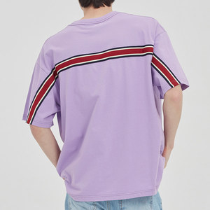 FRIDAY BACK LINE TEE_PURPLE