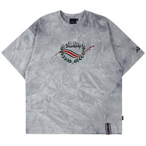 FRIDAY TIE DYE TEE_GREY
