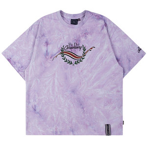 FRIDAY TIE DYE TEE_PURPLE