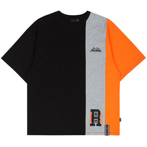 THREE BLOCK TEE_BLACK