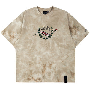 FRIDAY TIE DYE TEE_OATMEAL