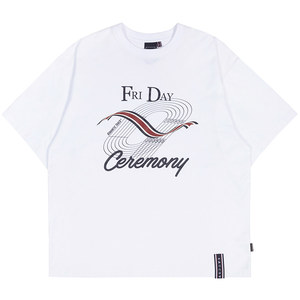 TRACK AND FIELD TEE_WHITE