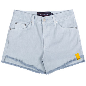 GNAC COTTON SHORTS_SKY BLUE