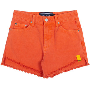 GNAC COTTON SHORTS_ORANGE
