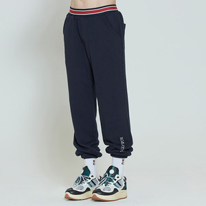 STRIPE BANDING JOGGER PANTS_NAVY