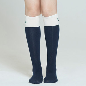 LAUREL LOGO KNEE SOCKS_NAVY