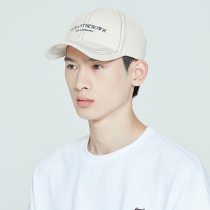 RMTCRW BASIC BALL CAP_OATMEAL