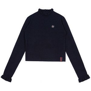 FRILL POINT KNITWEAR_NAVY