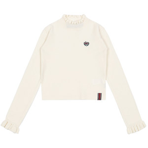 FRILL POINT KNITWEAR_OATMEAL