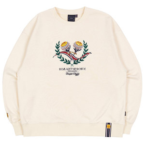 [CHUPA CHUPS X RMTCRW]CANDY SWEAT SHIRT_OATMEAL