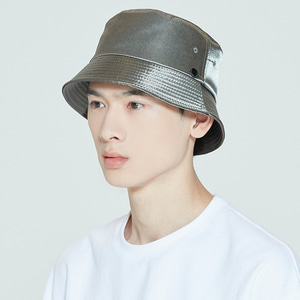LAUREL LOGO BUCKET HAT_KHAKI