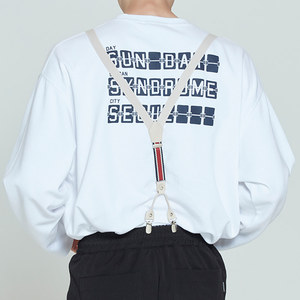 CEREMONY TAPE SUSPENDER_OATMEAL