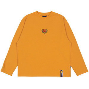 [CHUPA CHUPS X RMTCRW]LOGO LONG SLEEVE_YELLOW