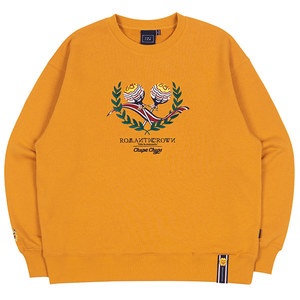 [CHUPA CHUPS X RMTCRW]CANDY SWEAT SHIRT_YELLOW