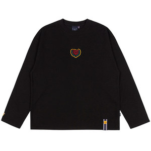 [CHUPA CHUPS X RMTCRW]LOGO LONG SLEEVE_BLACK