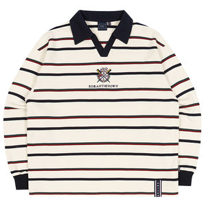 PADDLING LOGO POLO SHIRT_OATMEAL