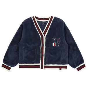 WOMANS RC LINING CARDIGAN_NAVY