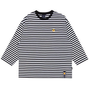 [CHUPA CHUPS X RMTCRW]STRIPED LONG SLEEVE_BLACK