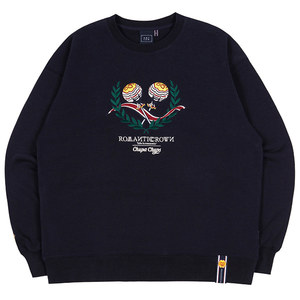 [CHUPA CHUPS X RMTCRW]CANDY SWEAT SHIRT_NAVY