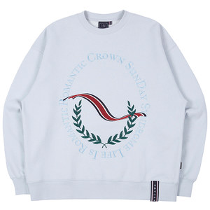 CEREMONY LAUREL SWEATSHIRT_SKY BLUE