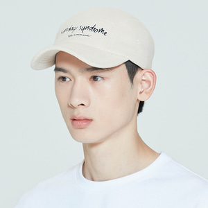 SUNDAY SYNDROME CAMP CAP_BEIGE