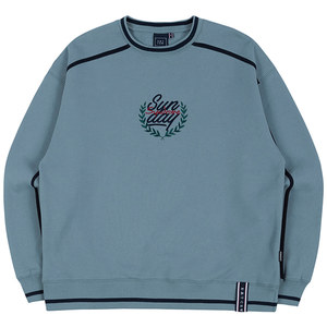 SHOULDER LINE SWEATSHIRT_LIGHT BLUE